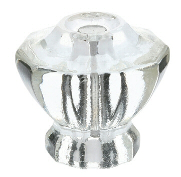 Clear Astoria Knob - Crystal Collection by Emtek