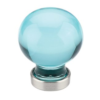 Cyan Bristol Cabinet Knob - Crystal Collection by Emtek
