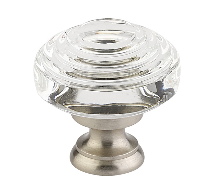 Deco Crystal Cabinet Knob - Crystal Collection by Emtek