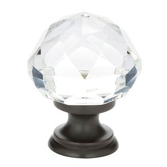 Clear Diamond Cabinet Knob - Crystal Collection by Emtek