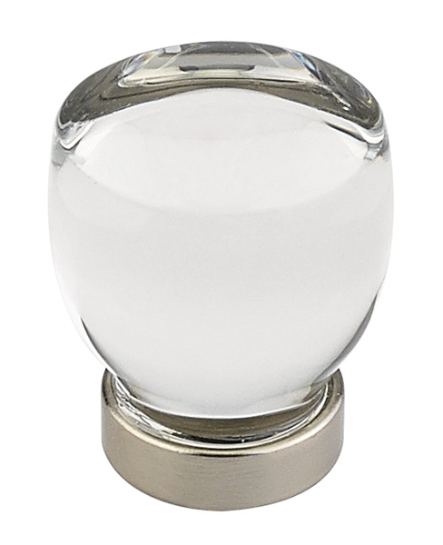 Clear Juneau Cabinet Knob - Crystal Collection by Emtek