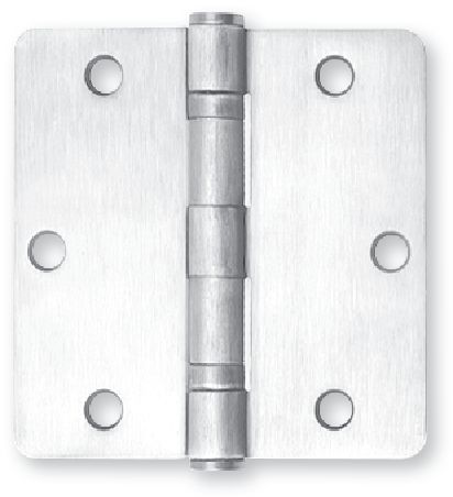 Residential Hinges from Inox by Unison Hardware