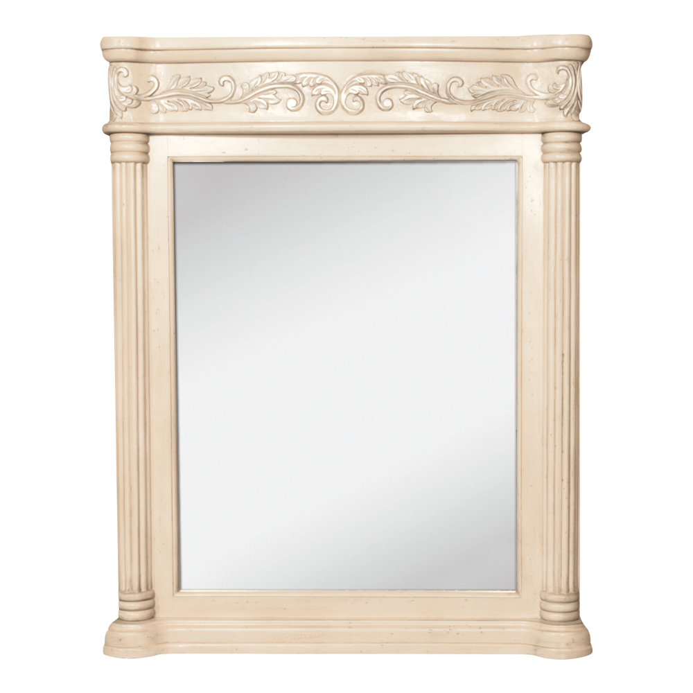 (click image to view larger image) Antique Ornate Mirror