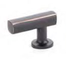 Oil Rubbed Bronze (US10B) Freestone Cabinet Pull - Modern Collection by Emtek
