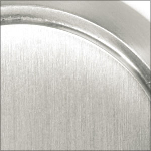 Satin Nickel (US15) Cinder Cabinet Knob - Modern Collection by Emtek