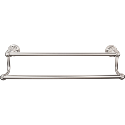Top Knobs Hudson Collection Double Towel Bar