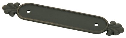 Cabinet Pull Back Plate - Tuscany Bronze Collection by Emtek