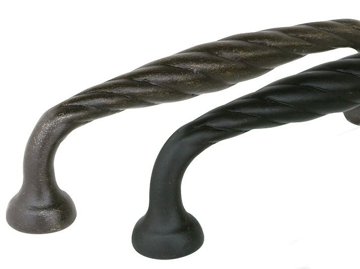 Twist Pull - Tuscany Bronze Collection by Emtek
