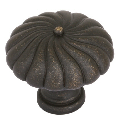 Tuscany Twist Round Knob - Tuscany Bronze Collection by Emtek