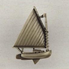 Catboat Cabinet Knob - Antique Brass (DP1AP) by Acorn