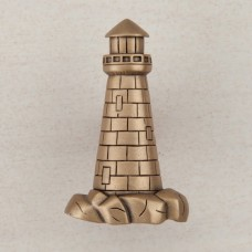 Lighthouse Cabinet Knob - Museum Gold (DP4GP) by Acorn