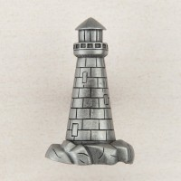 Lighthouse Cabinet Knob - Antique Pewter (DP4PP) by Acorn