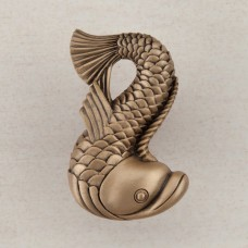 Dolphin Cabinet Knob - Museum Gold (DP5GP) by Acorn