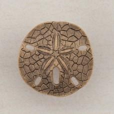 Sanddollar Cabinet Knob - Museum Gold (DPDGP) by Acorn