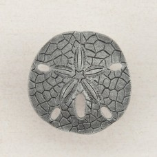 Sanddollar Cabinet Knob - Antique Pewter (DPDPP) by Acorn