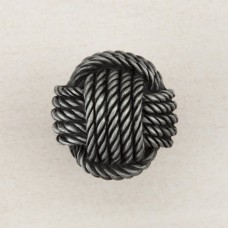 Monkey's Fist Knot Cabinet Knob - Antique Pewter (DPFPP) by Acorn
