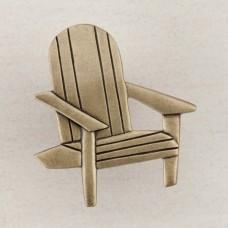 Beach Chair Cabinet Knob - Antique Brass (DPJAP) by Acorn