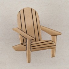 Beach Chair Cabinet Knob - Museum Gold (DPJGP) by Acorn