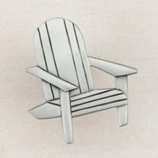 Beach Chair Cabinet Knob - Antique Pewter (DPJPP) by Acorn