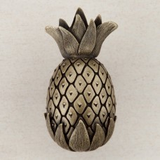 Pineapple Cabinet Knob - Antique Brass (DQ2AP) by Acorn