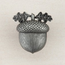 Acorn Cabinet Knob - Antique Pewter (DQ3PP) by Acorn