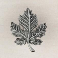 Leaf Cabinet Knob - Antique Pewter (DQ4PP) by Acorn