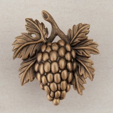 Grapevine Cabinet Knob - Museum Gold (DQ5GP) by Acorn