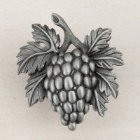 Grapevine Cabinet Knob - Antique Pewter (DQ5PP) by Acorn