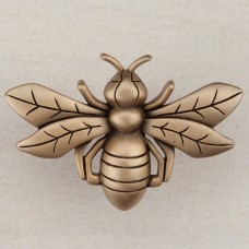 Bee Cabinet Knob - Museum Gold (DQ7GP) by Acorn
