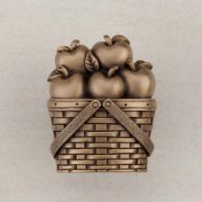 Apple Basket Cabinet Knob - Museum Gold (DQAGP) by Acorn