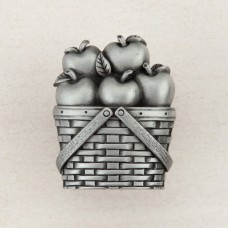 Apple Basket Cabinet Knob - Antique Pewter (DQAPP) by Acorn