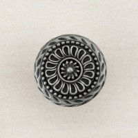 Lace Circle Cabinet Knob - Antique Pewter (DQFPP) by Acorn