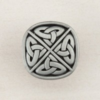 Celtic Square Cabinet Knob - Antique Pewter (DQGPP) by Acorn