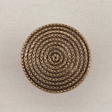 Rope Circle Cabinet Knob - Museum Gold (DQHGP) by Acorn