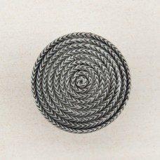 Rope Circle Cabinet Knob - Antique Pewter (DQHPP) by Acorn