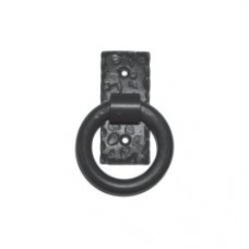 Small Smooth Ring Door Pull (PU019) by Agave Ironworks