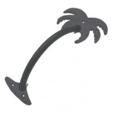 Large Palm Tree Door Pull (PU046) by Agave Ironworks