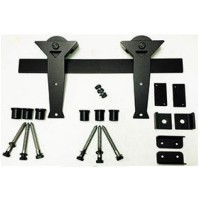 Martini Kit Barn Door Kit (RH025 & SS025) - (Various Finishes - Various Track Lengths) by Agave Ironworks