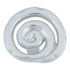 """Scroll Cabinet Knob (1-1/2"""") - Brushed Nickel (140-BRN) by Atlas Homewares"""