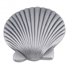 "Clamshell Cabinet Knob (2"") - Pewter (143-P) by Atlas Homewares"