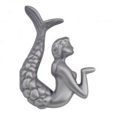 "Left Mermaid Cabinet Knob (2-1/2"") - Pewter (190L-P) by Atlas Homewares"