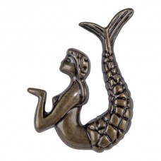 "Right Mermaid Cabinet Knob (2-1/2"") - Burnished Bronze (190R-BB) by Atlas Homewares"