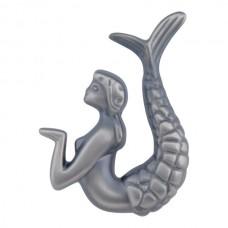 "Right Mermaid Cabinet Knob (2-1/2"") - Pewter (190R-P) by Atlas Homewares"