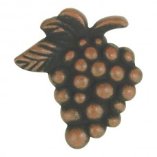 "Vineyard Grapes Cabinet Knob (2"") - Rust (2173-R) by Atlas Homewares"