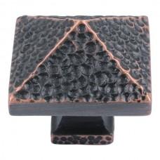"Craftsman Square Cabinet Knob (1-1/4"") - Venetian Bronze (2237-VB) by Atlas Homewares"
