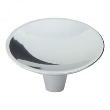 "Dap Round Cabinet Knob (2"") - Polished Chrome (226-CH) by Atlas Homewares"