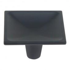 "Dap Square Cabinet Knob (2"") - Matte Black (227-BL) by Atlas Homewares"