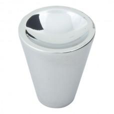 """Dap Cone Cabinet Knob (1"""") - Polished Chrome (228-CH) by Atlas Homewares"""