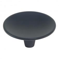 """Dap Round Cabinet Knob (2-1/2"""") - Matte Black (233-BL) by Atlas Homewares"""