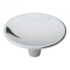 "Dap Round Cabinet Knob (2-1/2"") - Polished Chrome (233-CH) by Atlas Homewares"